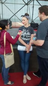 Interviewing Christine