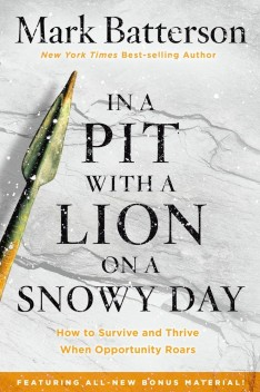 In a Pit with a Lion on a Snowy Day - Mi Baile Perfecto